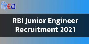 RBI Junior Engineer Recruitment 2021, RBI JE Vacancy 2021, RBI JE Recruitment 2021,